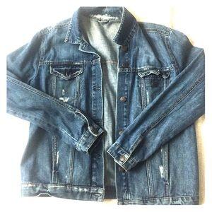 Denim Jacket Distressed